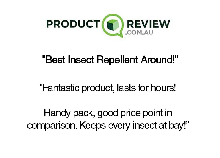 ProductReview Website: Best Insect Repellent Around. Good price point in comparison. Keeps every insect at bay - review