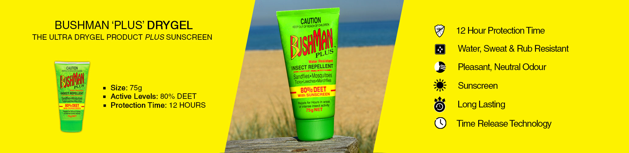 Bushman plus dry gel
