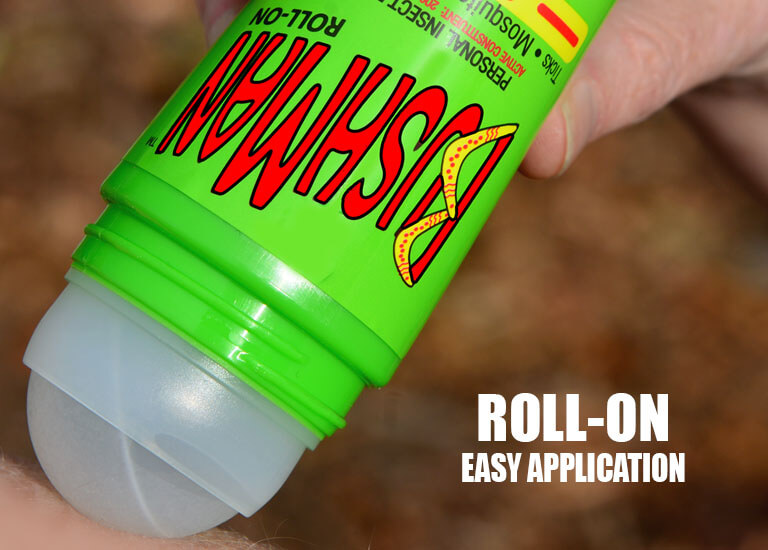 Roll on has easy application