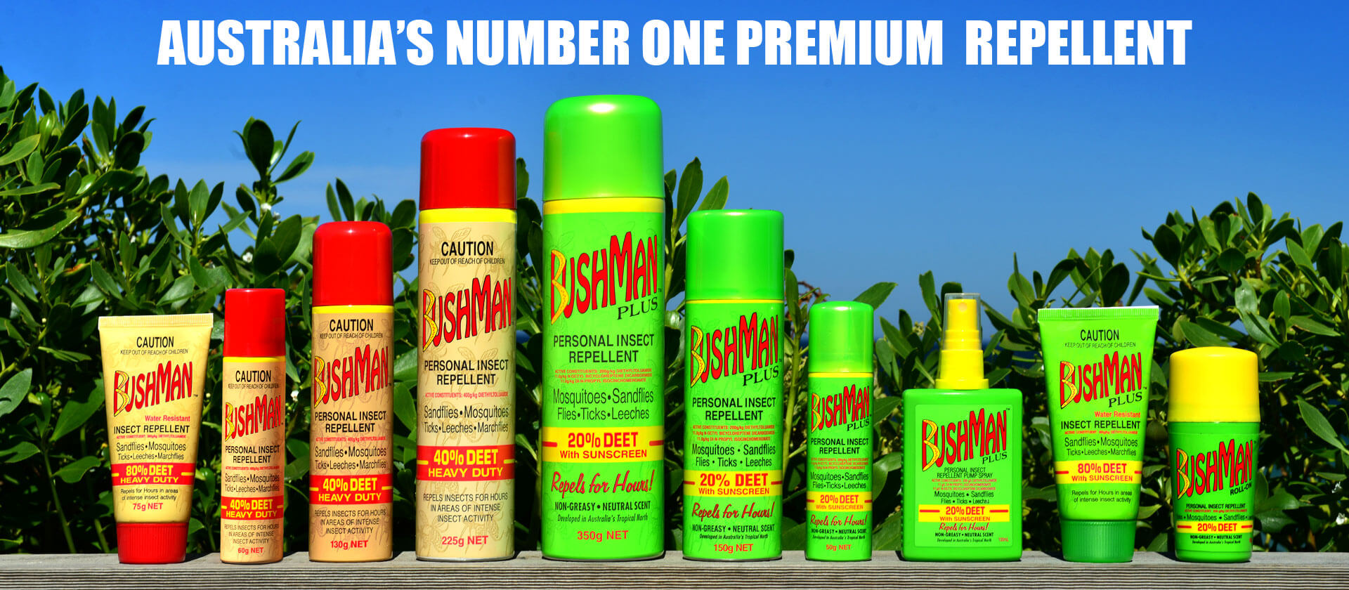 Bushman products