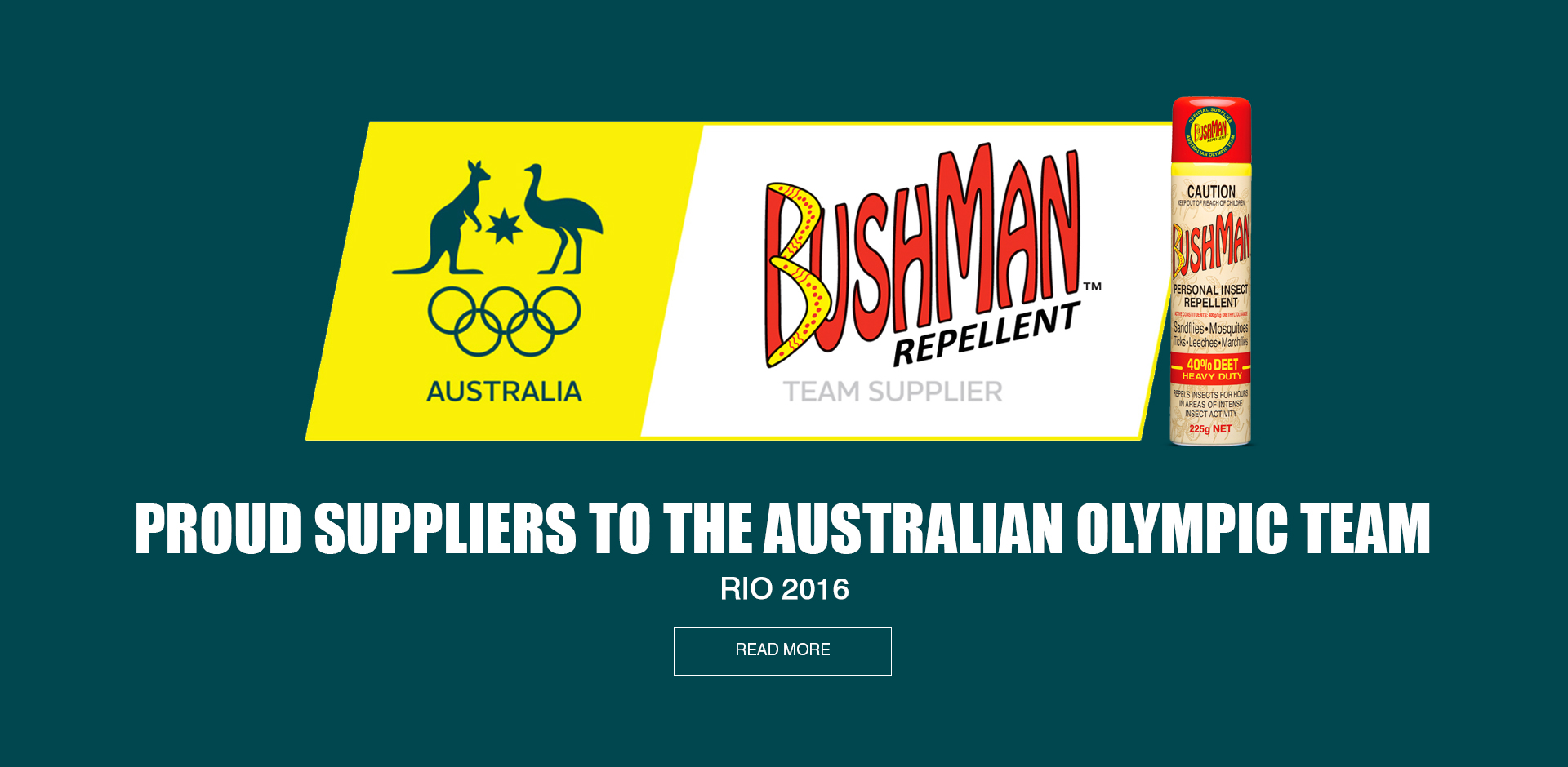 Bushman is Australian born, Australian owned, Australian made
